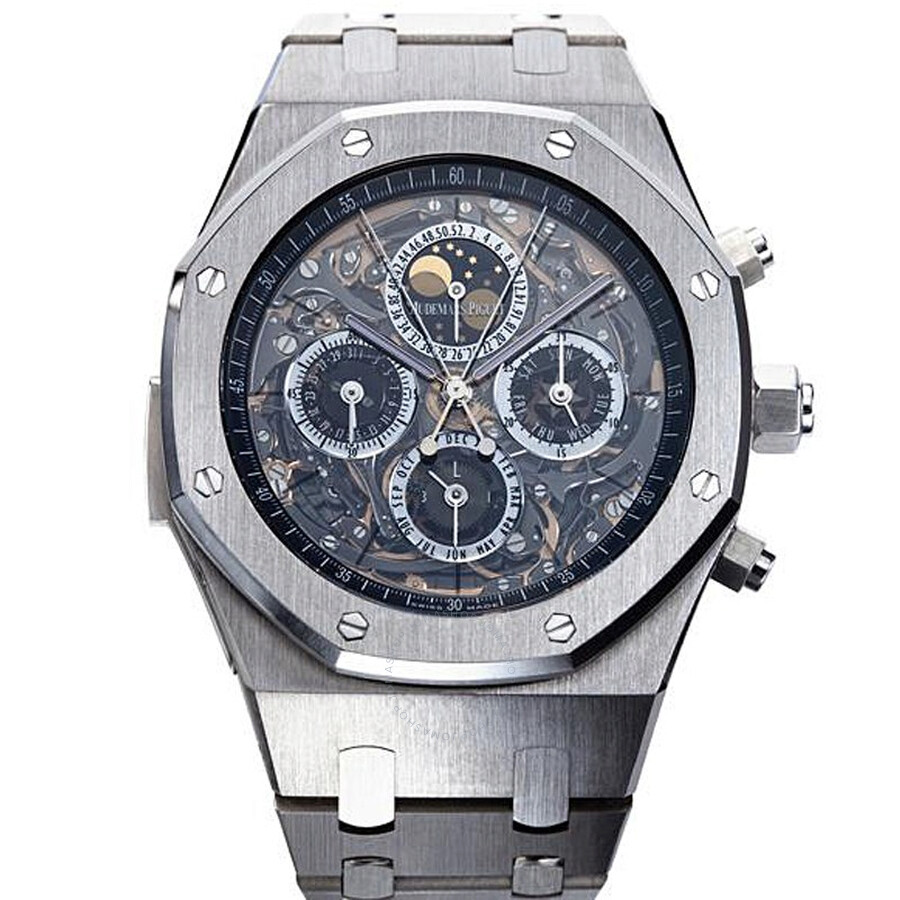 2725f55a4b00 Audemars Piguet Royal Oak Grande Complication Automatic Titanium Men s  Watch Item No. 26065IS.OO.1105IS.01