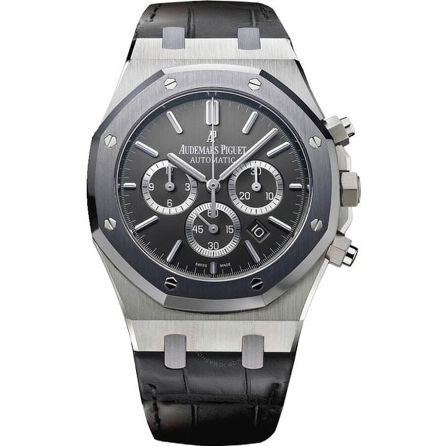 Audemars Piguet Royal Oak Leo Messi Automatic Chronograph Stainless Steel Men S Watch 26325ts Oo D005cr 01