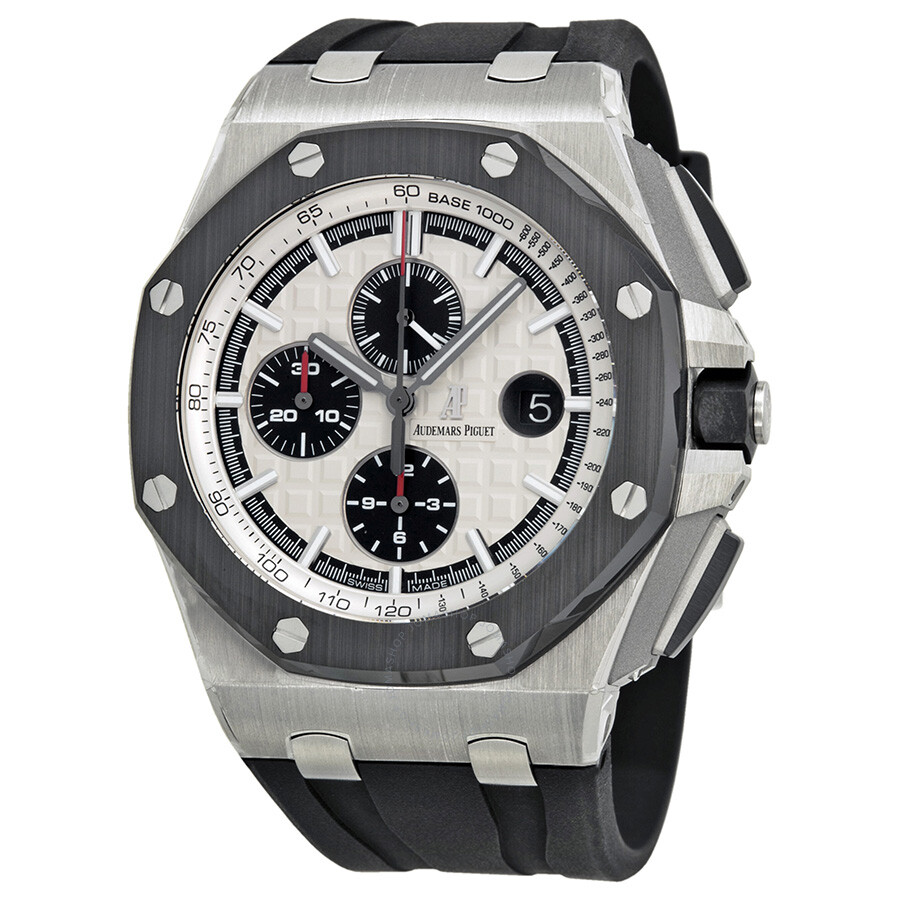 Audemars piguet royal oak offshore silver dial men 39 s watch 26400so oo royal oak for Audemars watches