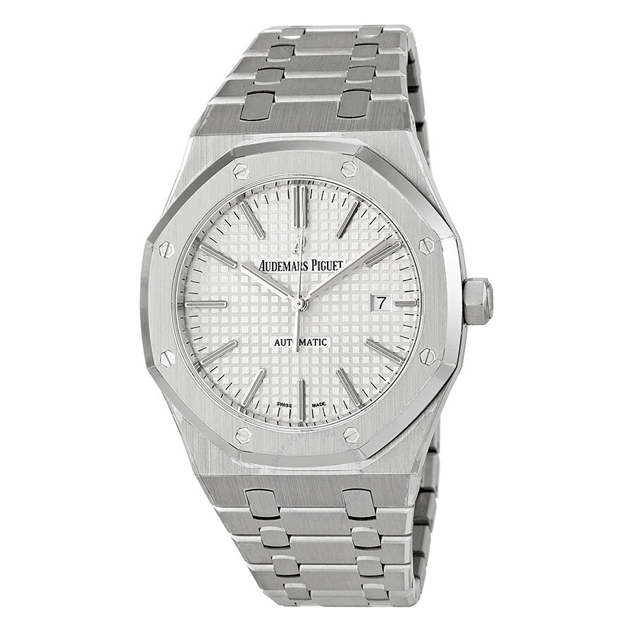 Audemars piguet royal oak automatic men 39 s watch 15400st royal oak audemars for Audemars watches