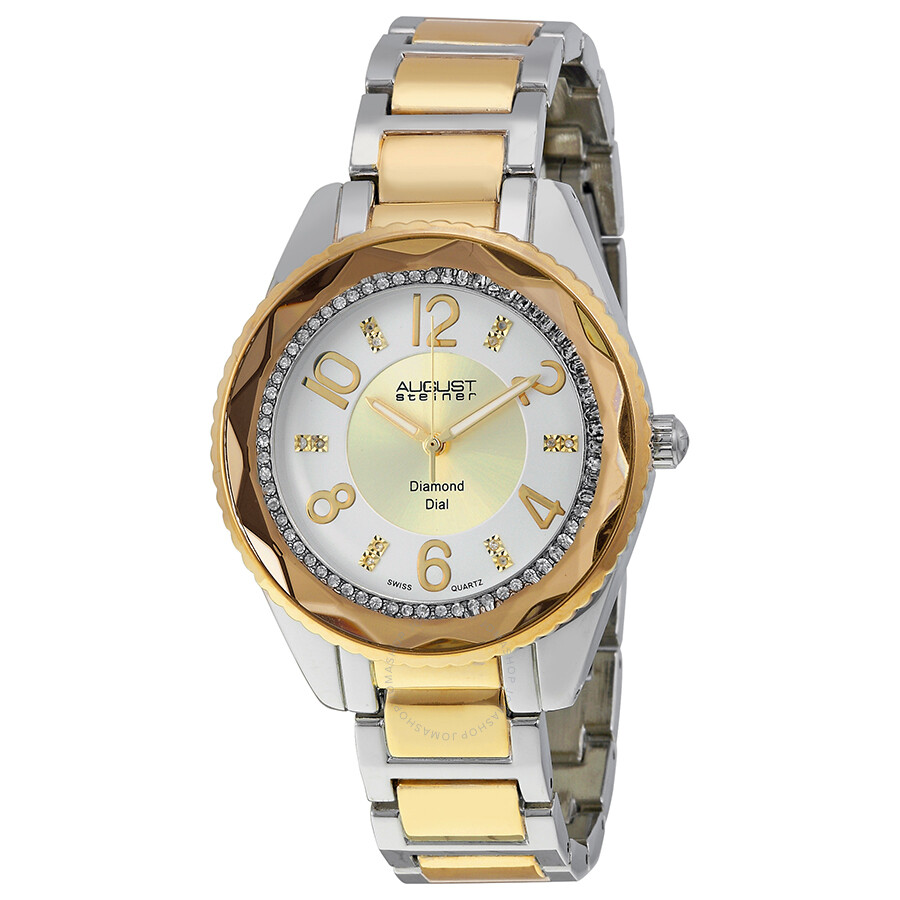 august steiner silver womens as8122ttg august