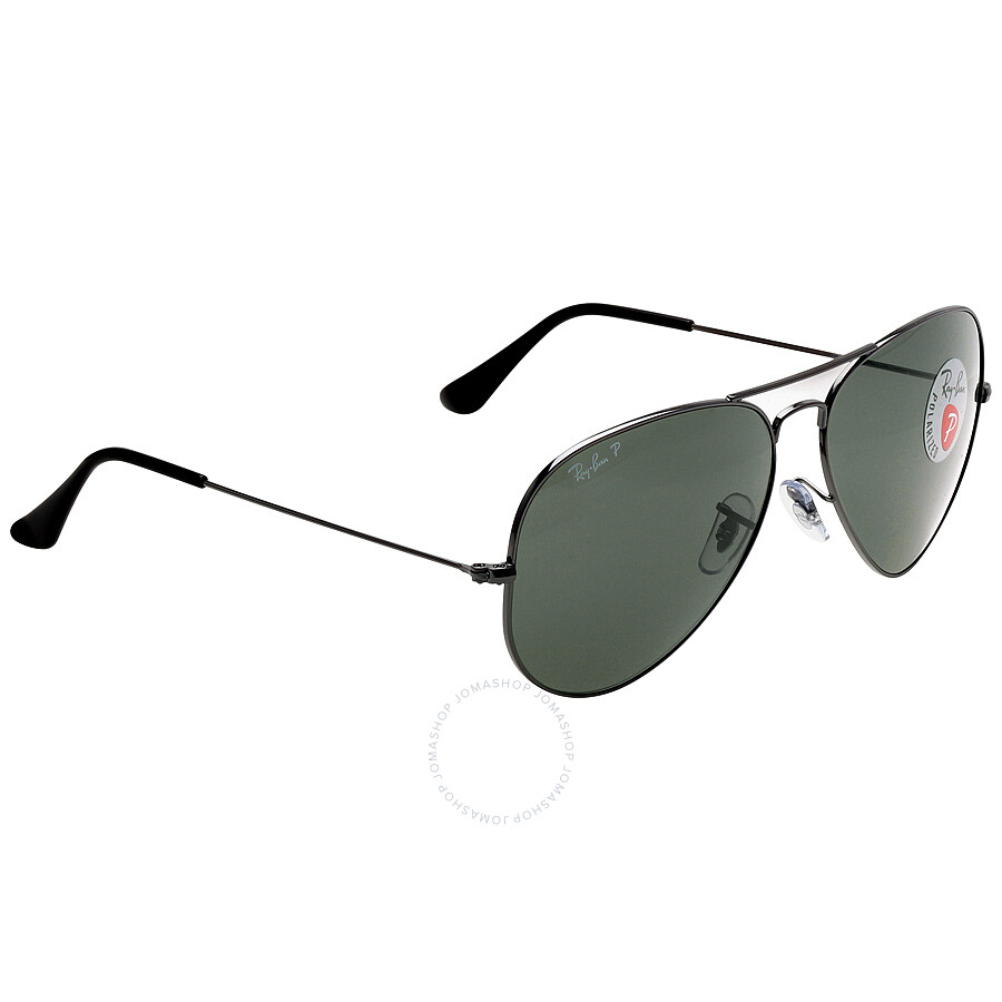 cfedb6c06b ... Aviator Classic Polarized Green Classic G-15 Sunglasses RB3025-00458-62