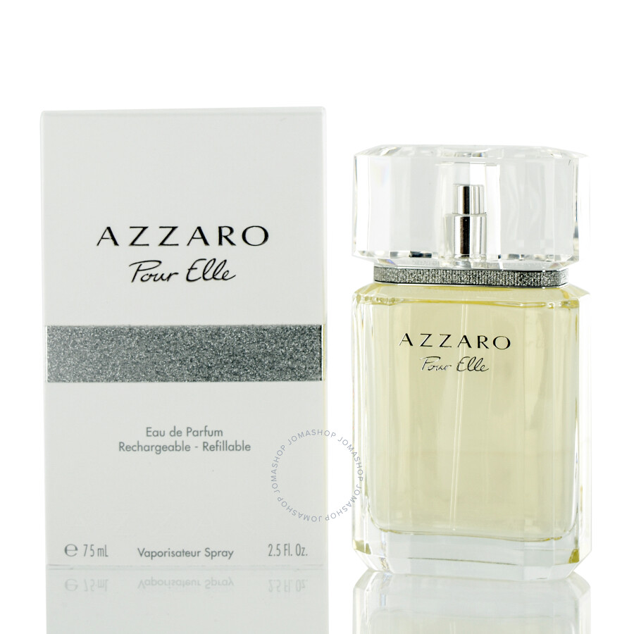 Azzaro Pour Elle Azzaro Edp Spray Refillable 25 Oz 75 Ml W