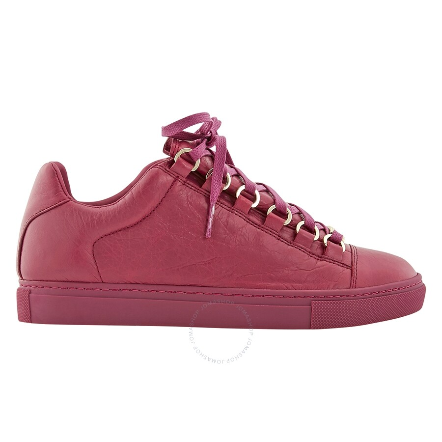 100% quality authorized site closer at Balenciaga Low Sneakers in Red/Rose