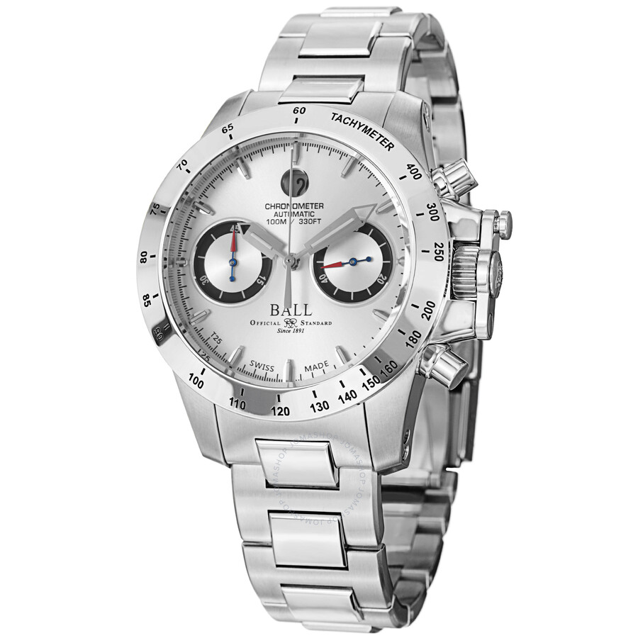 ball engineer automatic chronograph silver dial men s watch forgot password
