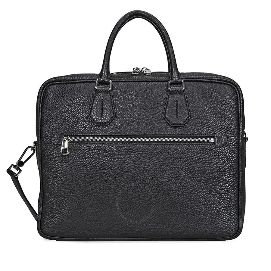 da7cb8555921 Bally Condria Messenger Leather Messenger Bag- Black Item No. 6207696 BK