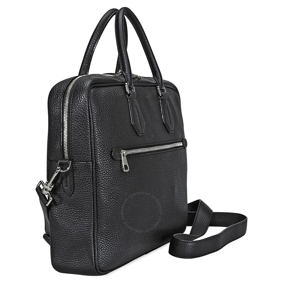89134be816 Bally Condria Messenger Leather Messenger Bag- Black - Bally ...