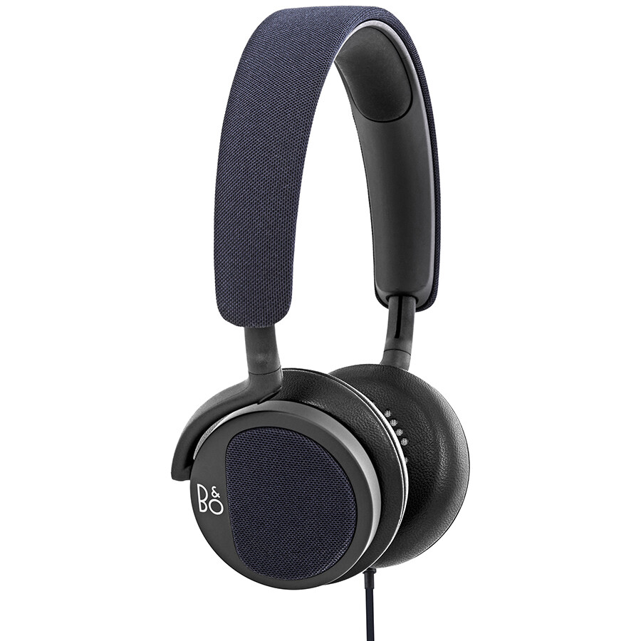 bang and olufsen beoplay h2 headphones carbon blue jomashop. Black Bedroom Furniture Sets. Home Design Ideas