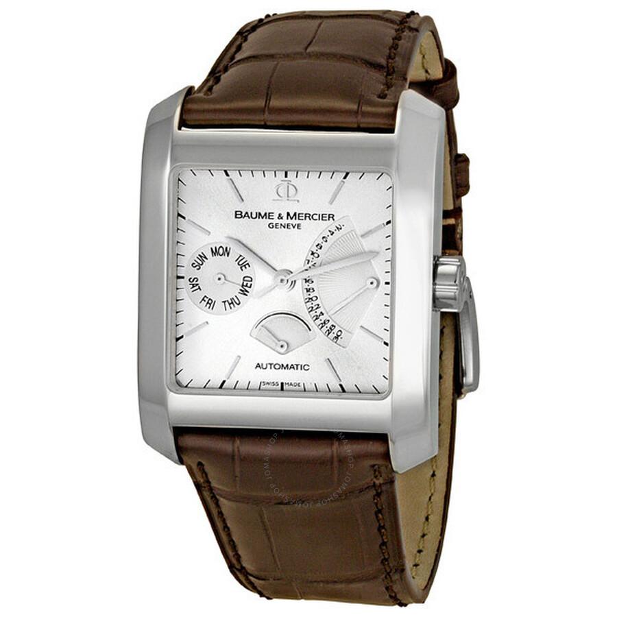 3b9317b5e Baume & Mercier Hampton Classic Square Men's Watch 8757 - Hampton ...