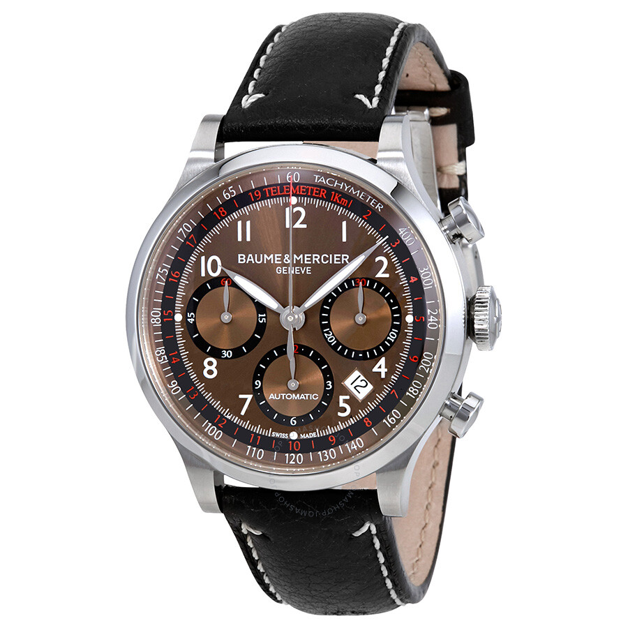 baume and mercier capeland automatic chronograph men 39 s watch 10002 capeland baume mercier. Black Bedroom Furniture Sets. Home Design Ideas