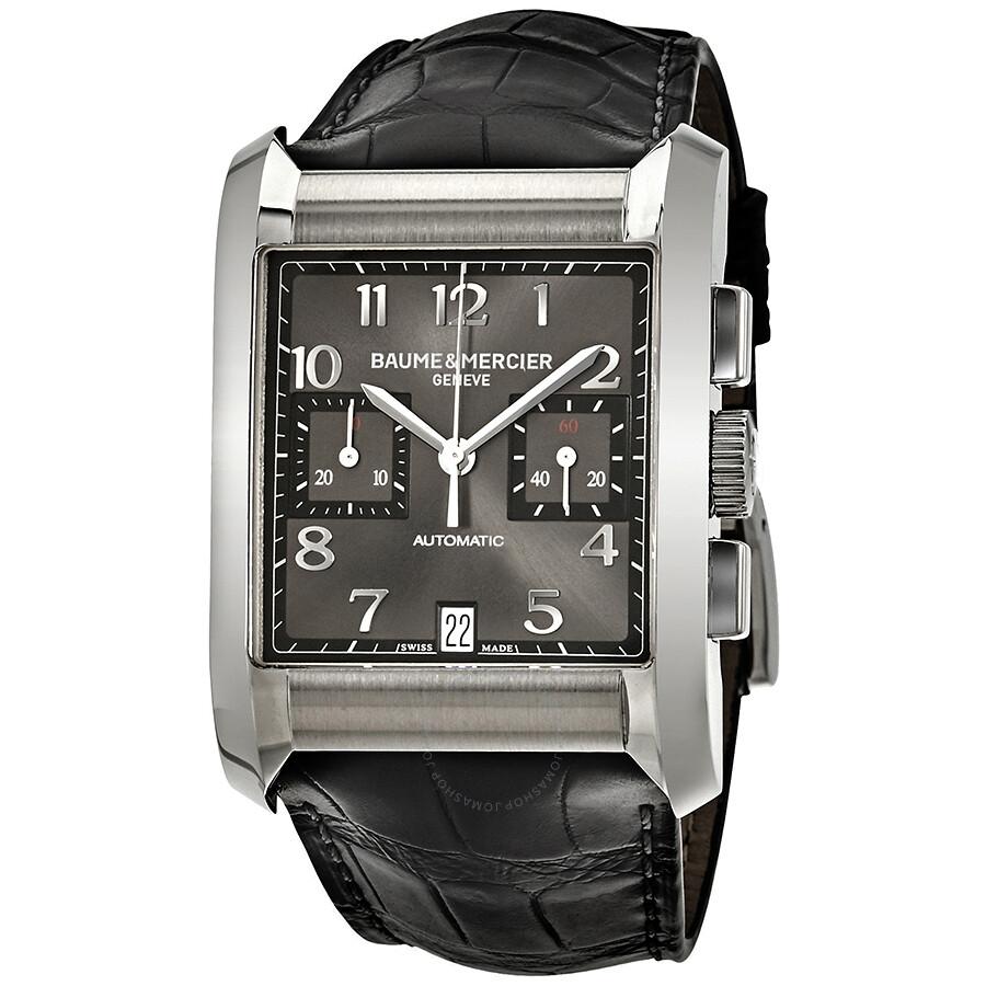 baume and mercier chronograph automatic black dial men 39 s watch 10030 hampton classic hampton. Black Bedroom Furniture Sets. Home Design Ideas