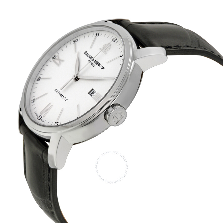 baume and mercier classima automatic white dial men 39 s watch 08592 classima executives baume. Black Bedroom Furniture Sets. Home Design Ideas