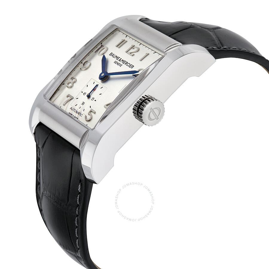 baume and mercier hampton automatic silver dial men 39 s watch 10026 hampton classic hampton. Black Bedroom Furniture Sets. Home Design Ideas