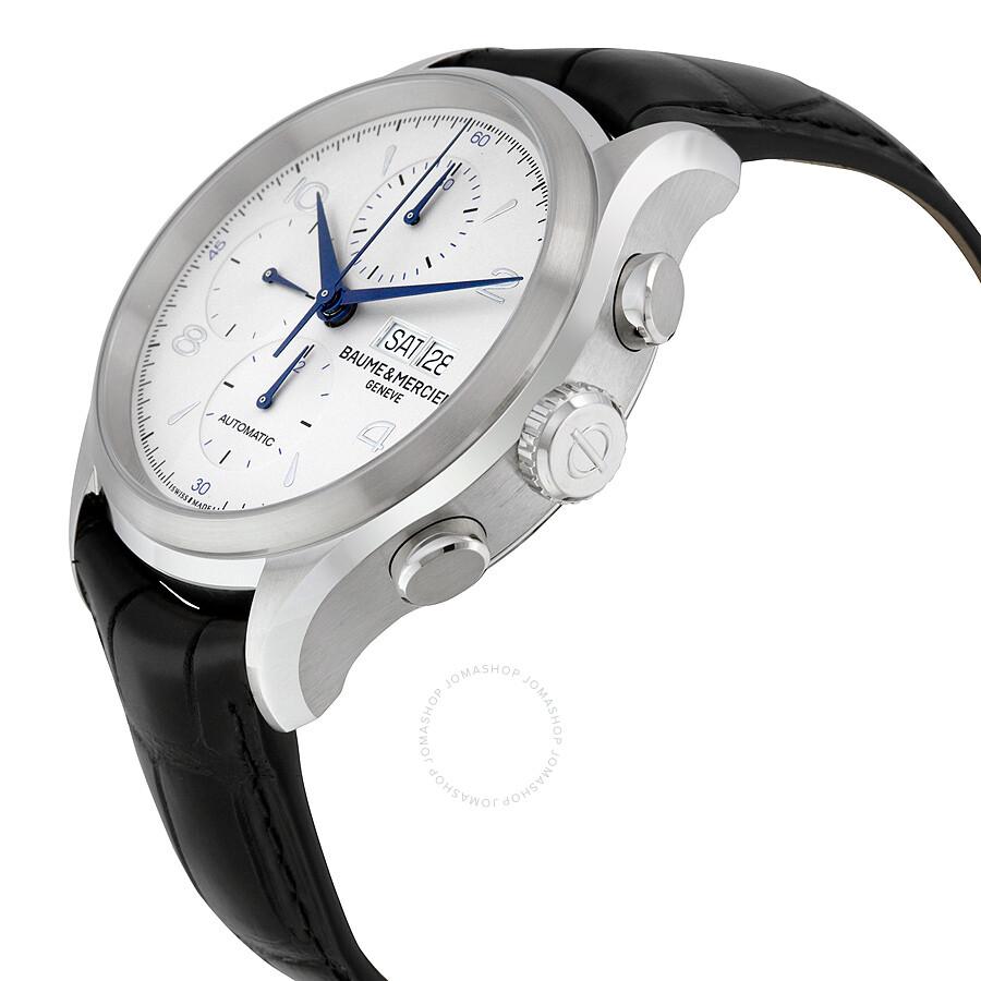 baume et mercier clifton automatic chronograph men 39 s watch 10123 clifton baume mercier. Black Bedroom Furniture Sets. Home Design Ideas