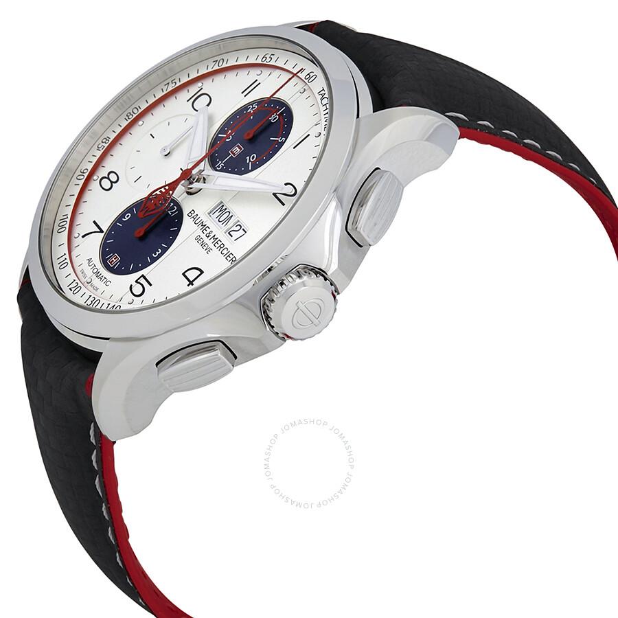 baume et mercier clifton automatic chronograph men 39 s watch moa10342 clifton baume mercier. Black Bedroom Furniture Sets. Home Design Ideas