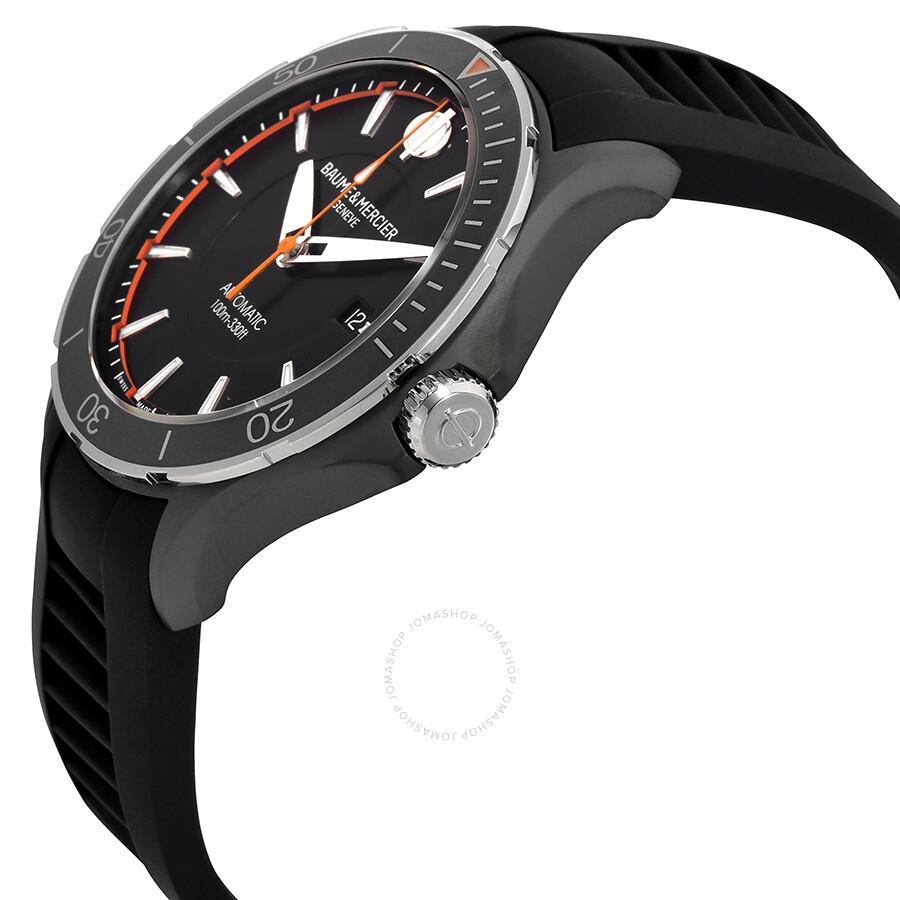 baume et mercier clifton automatic men 39 s watch moa10339 clifton baume mercier watches. Black Bedroom Furniture Sets. Home Design Ideas