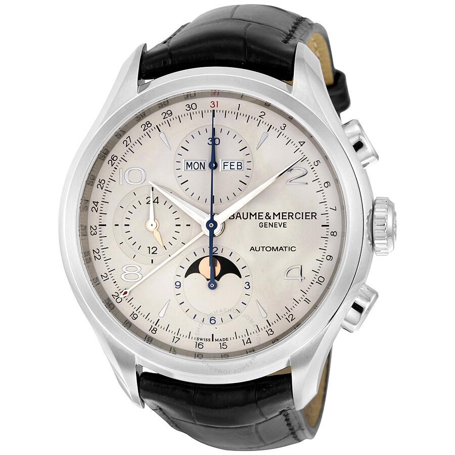 baume et mercier clifton chronograph automatic men 39 s watch 10278 clifton baume mercier. Black Bedroom Furniture Sets. Home Design Ideas