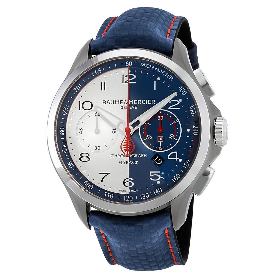Baume et Mercier Clifton Club Shelby Cobra Men's Watch MOA10344