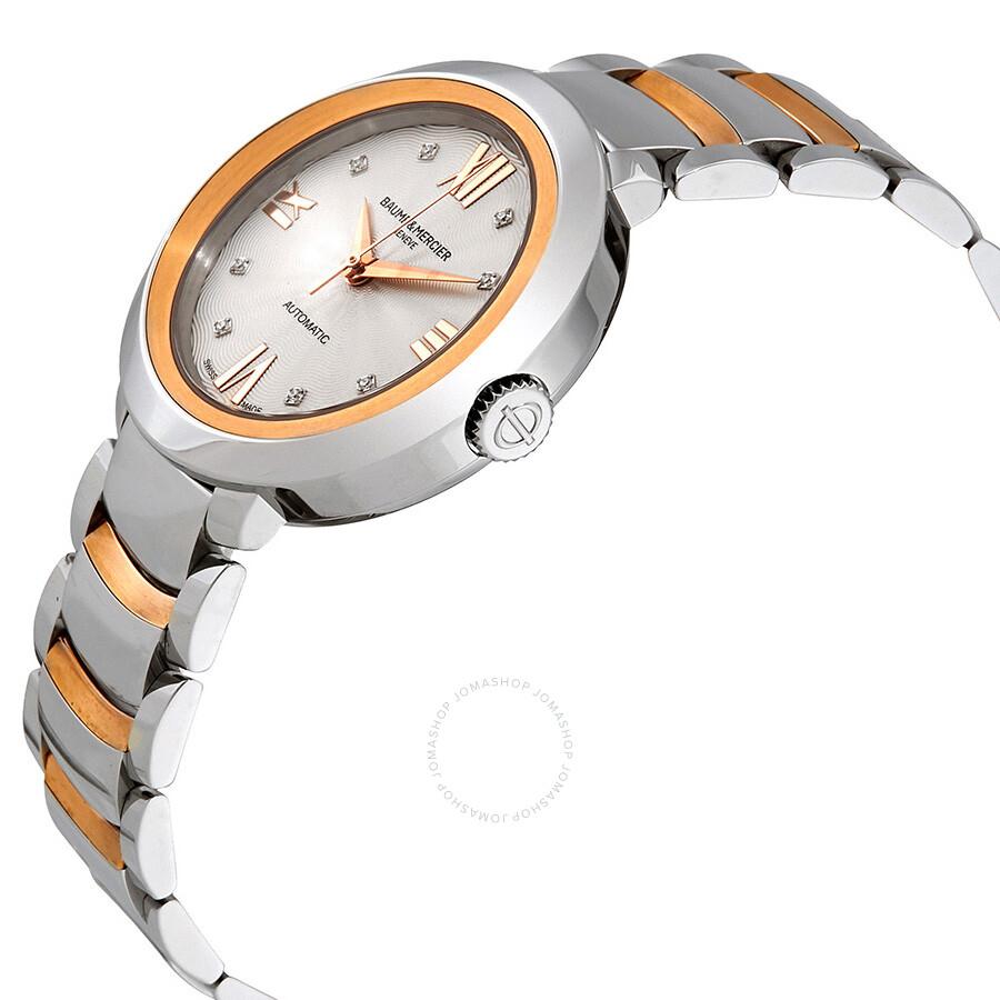 baume et mercier promesse automatic ladies watch 10163 promesse baume mercier watches. Black Bedroom Furniture Sets. Home Design Ideas