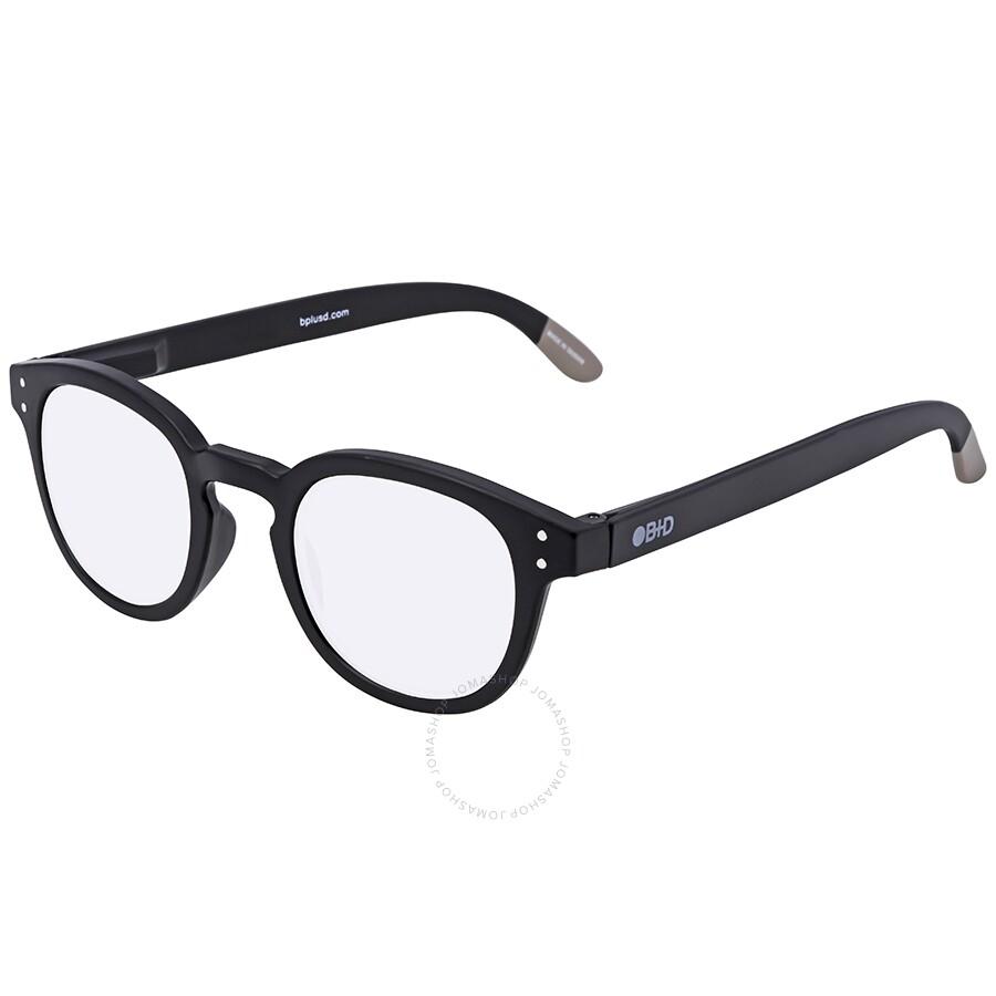 ebd8f6ca85f B+D Blue Ban Reader Matt Black Eyeglasses 2280-99 - Blue Ban - B+D ...