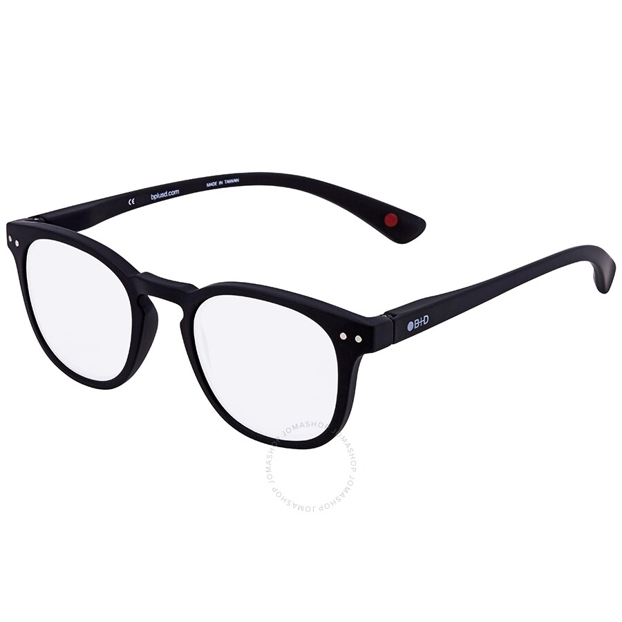 37d5826c5dd B+D Dot Reader Matt Black Eyeglasses 2240-99 - Dot - B+D ...