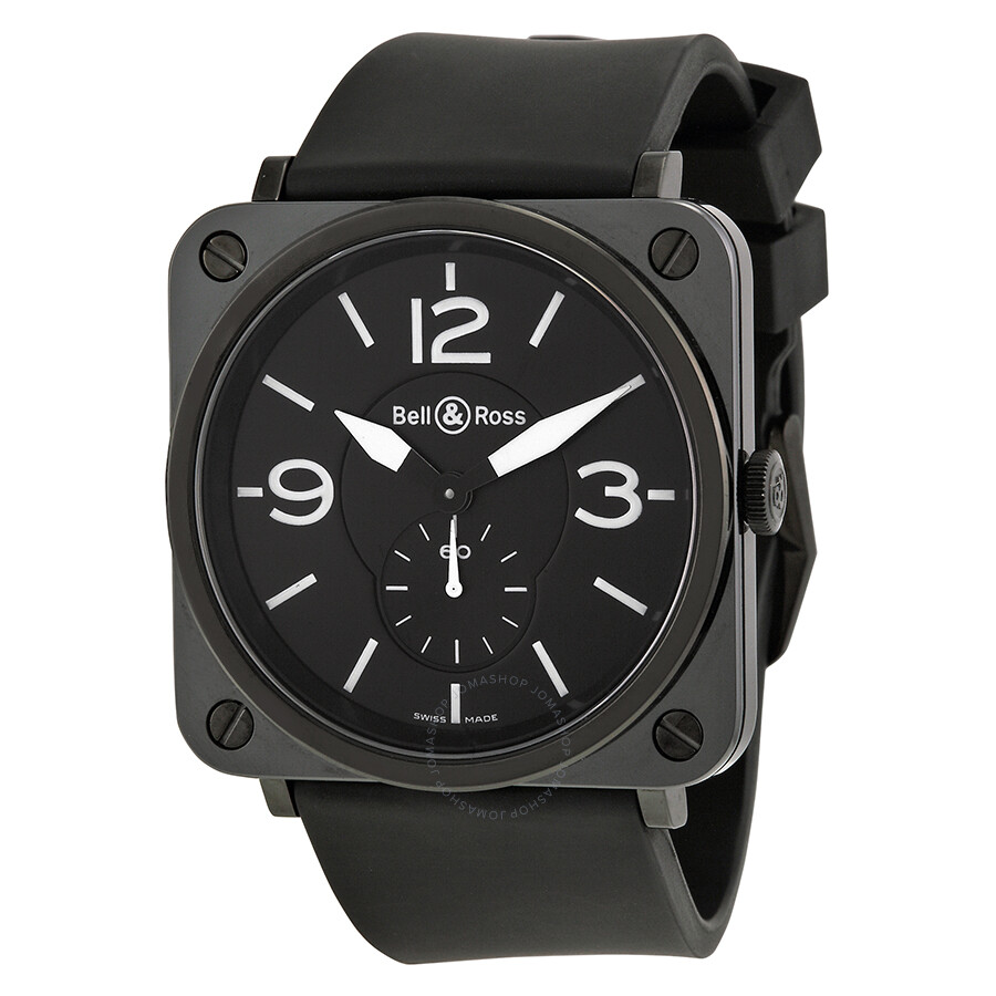 bell and ross aviation black ceramic watch brs bl cer srb. Black Bedroom Furniture Sets. Home Design Ideas