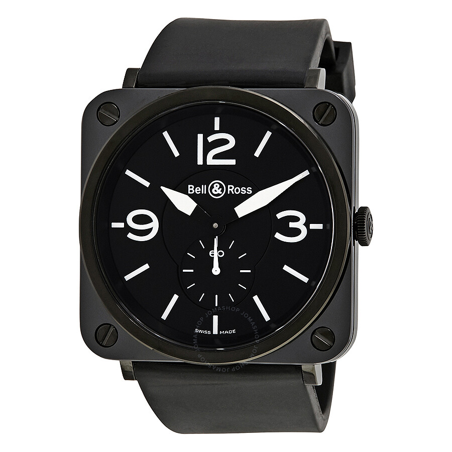 bell and ross aviation black dial black ceramic case. Black Bedroom Furniture Sets. Home Design Ideas