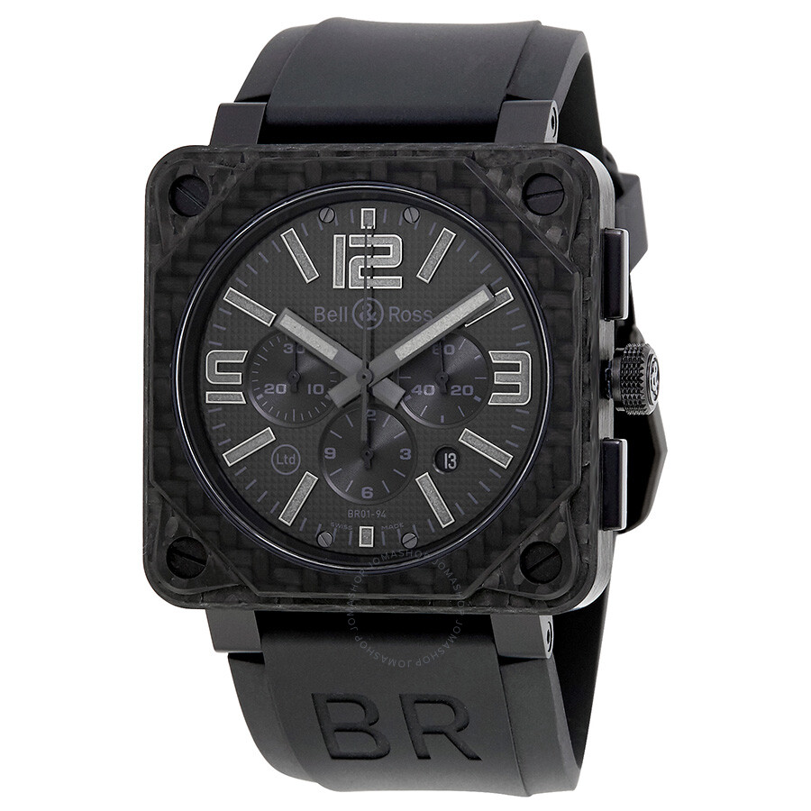 bell and ross aviation black phantom dial men 39 s watch. Black Bedroom Furniture Sets. Home Design Ideas