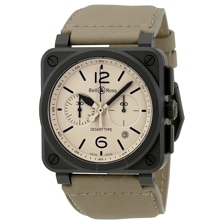 bell and ross aviation desert type chronograph automatic. Black Bedroom Furniture Sets. Home Design Ideas
