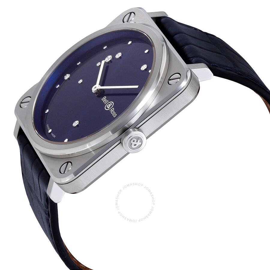 Aviation Midnight Blue Diamond Dial Ladies Watch BRS-DIAEAGLE