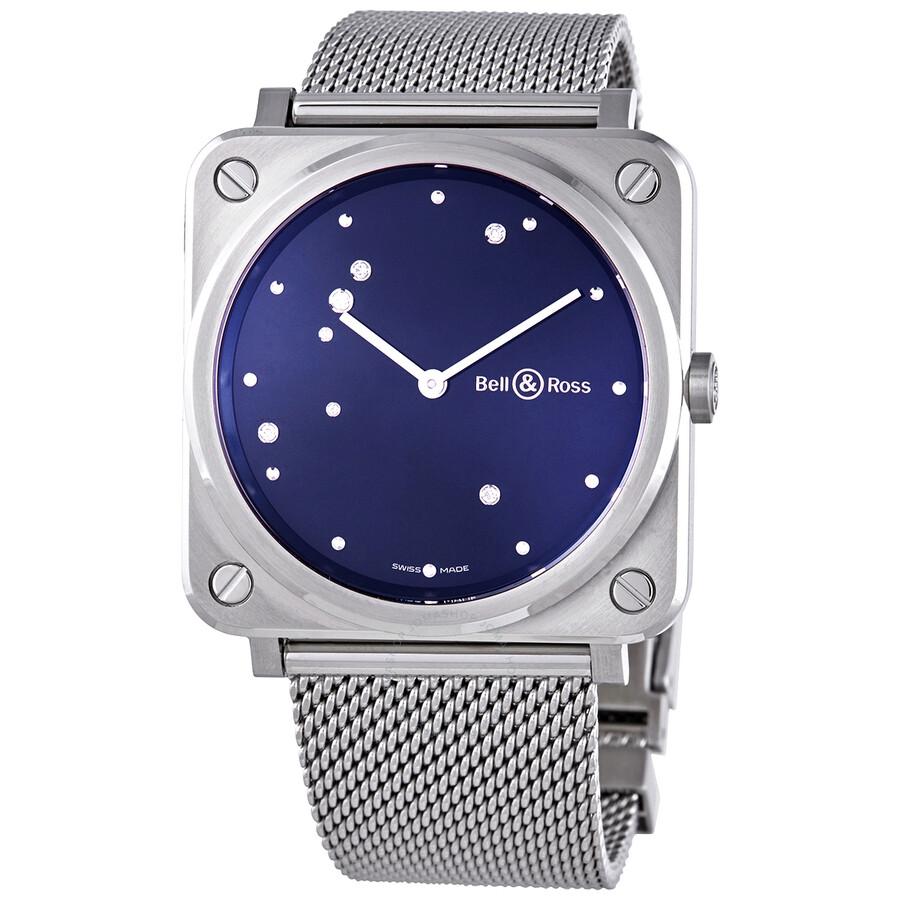 Quartz Diamond Unisex Watch BRS-EA-ST/SST