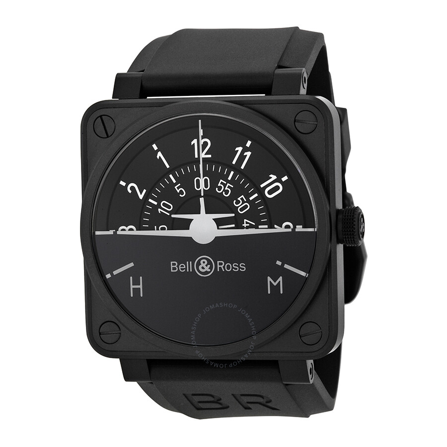 bell and ross turn coordinator automatic black dial men 39 s. Black Bedroom Furniture Sets. Home Design Ideas
