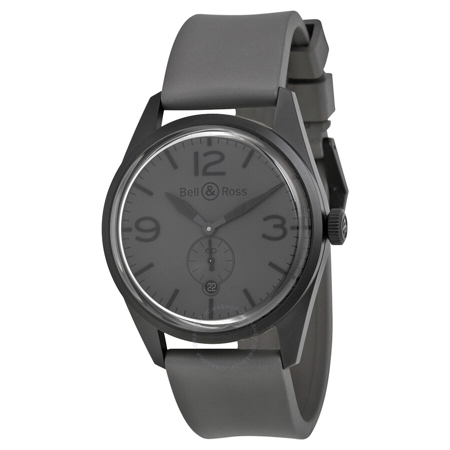 Bell and Ross Vintage Commando Grey Dial Men's Watch ...