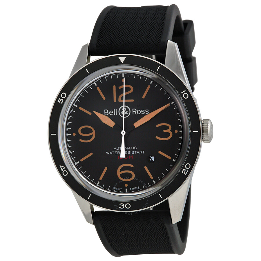bell and ross vintage sport automatic men 39 s watch rbrv123. Black Bedroom Furniture Sets. Home Design Ideas