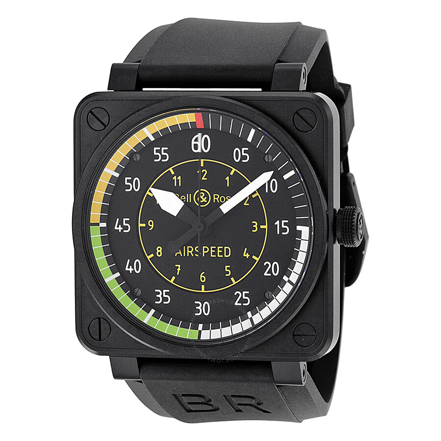 bell ross aviation flight instruments men 39 s watch br0192 airspeed aviation bell and ross. Black Bedroom Furniture Sets. Home Design Ideas