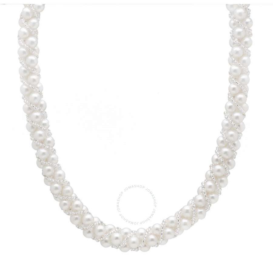 Multi Row Pearl Necklace: Bella Pearl Multi-Row Pearl Necklace NSR-105