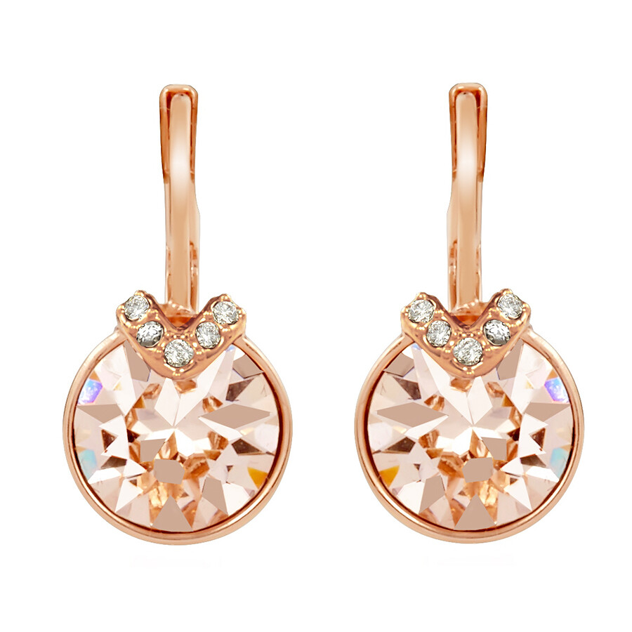 caea6360851082 Bella V Pierced Rose Gold Plated Earrings 5299318 - Swarovski ...