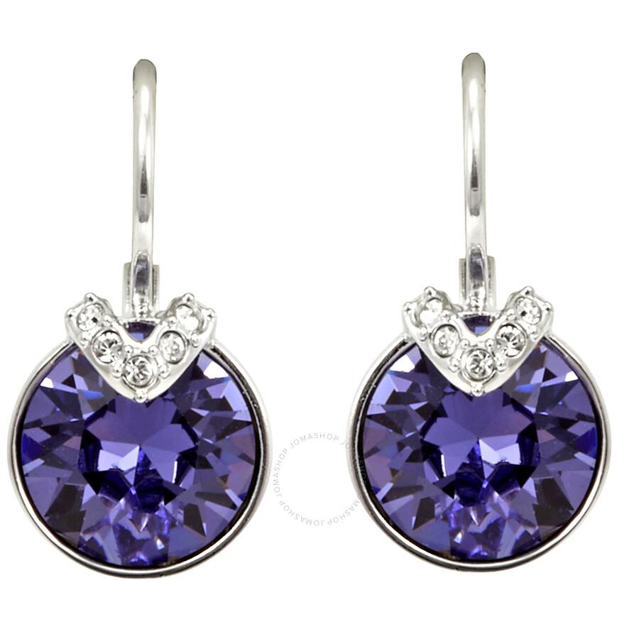 42bce02c1 Bella V Pierced Rose Gold Plated Earrings 5389358 - Swarovski ...