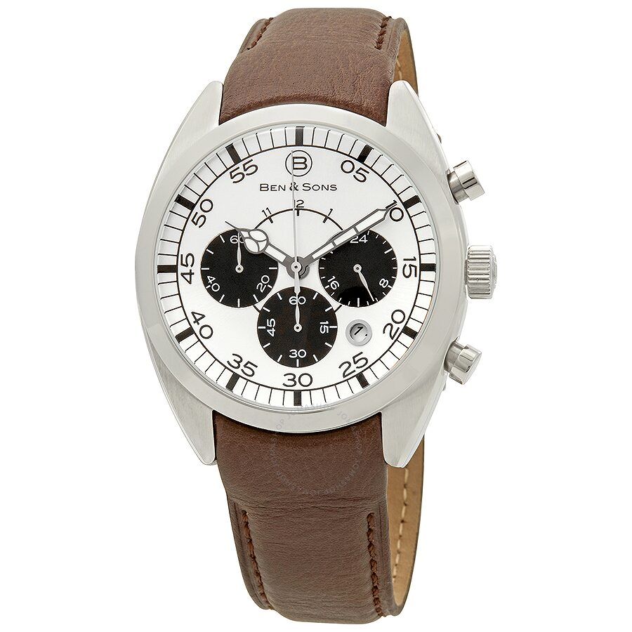 0e79405a7e33 Ben and Sons Voyager GMT Chronograph Men s Watch 10005-02S