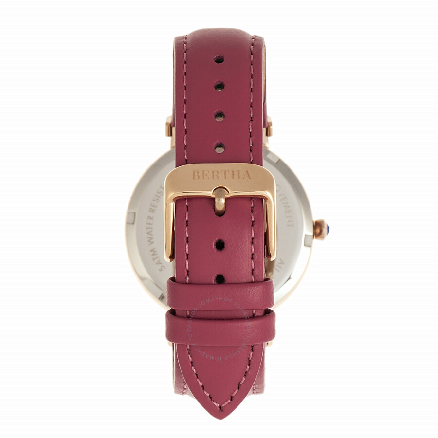 Allison Quartz Crystal Pink Dial Ladies Watch BR9306