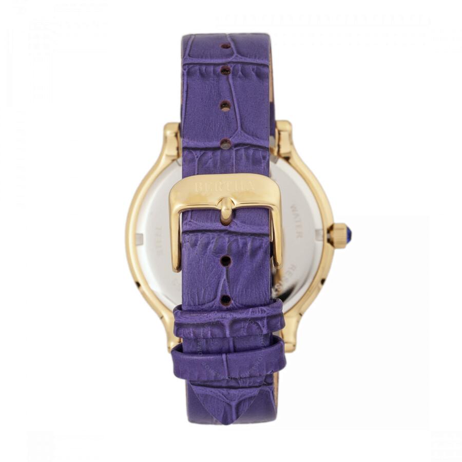 Bertha Cora Crystal Blue Dial Ladies Watch BR6003 - Bertha - Watches ... ce2d9c4b6b