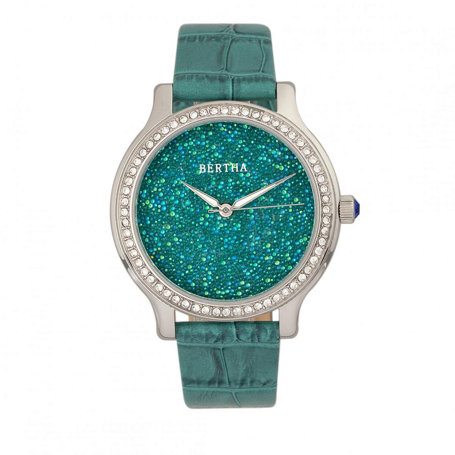 Bertha cora crystal ladies watch br6002 bertha watches jomashop for Crystal ladies watch