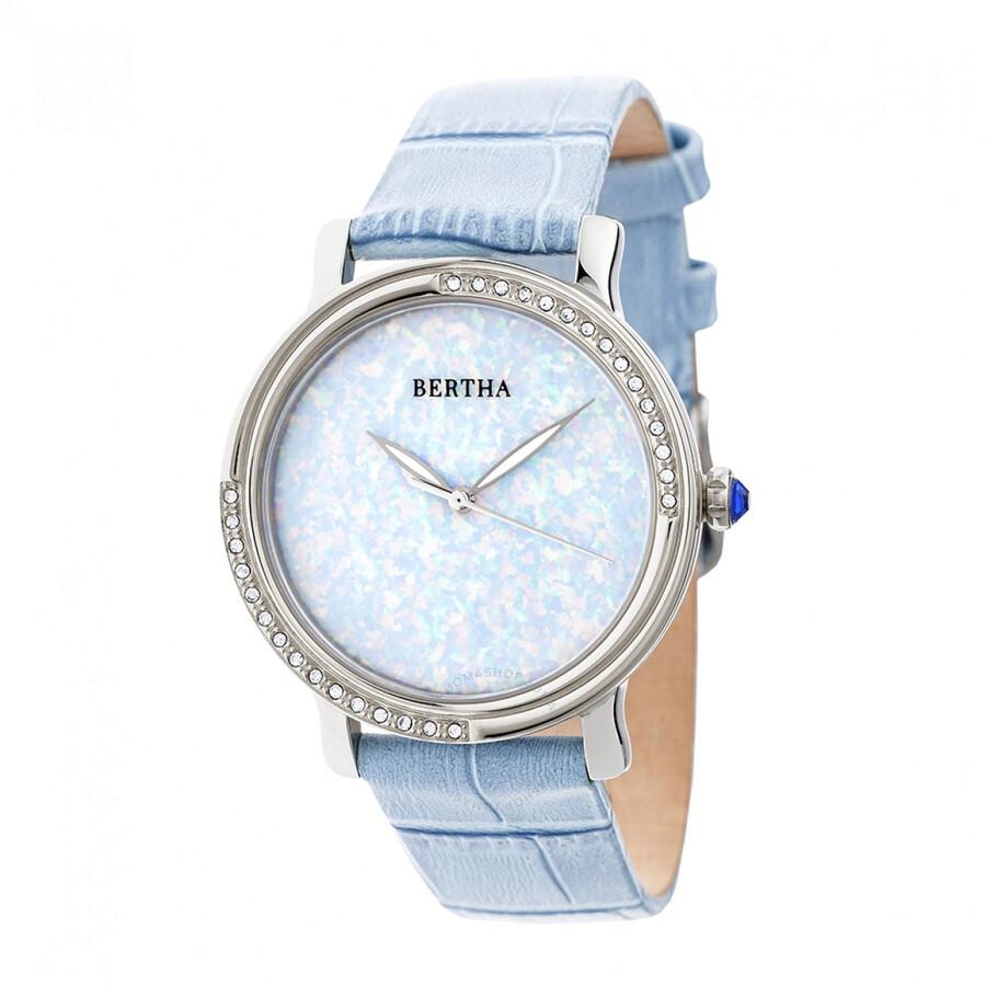 Bertha courtney crystal ladies watch br7902 bertha watches jomashop for Crystal ladies watch