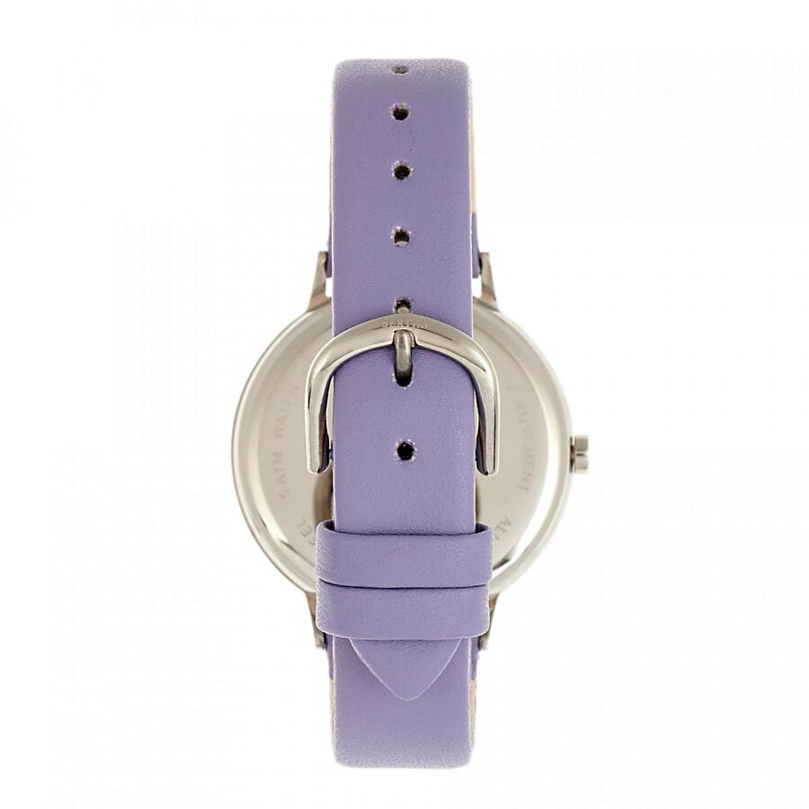 Delilah Quartz Crystal White Dial Ladies Watch BR8602