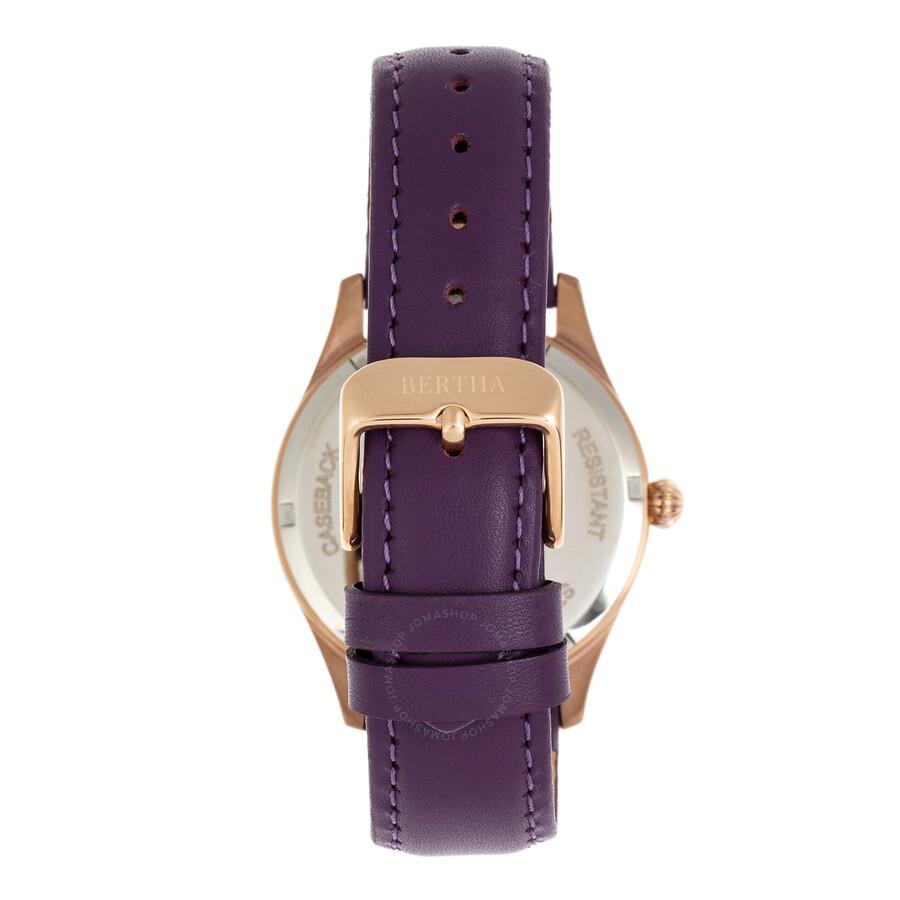 Dixie Quartz Crystal Rose Dial Ladies Watch BR9905