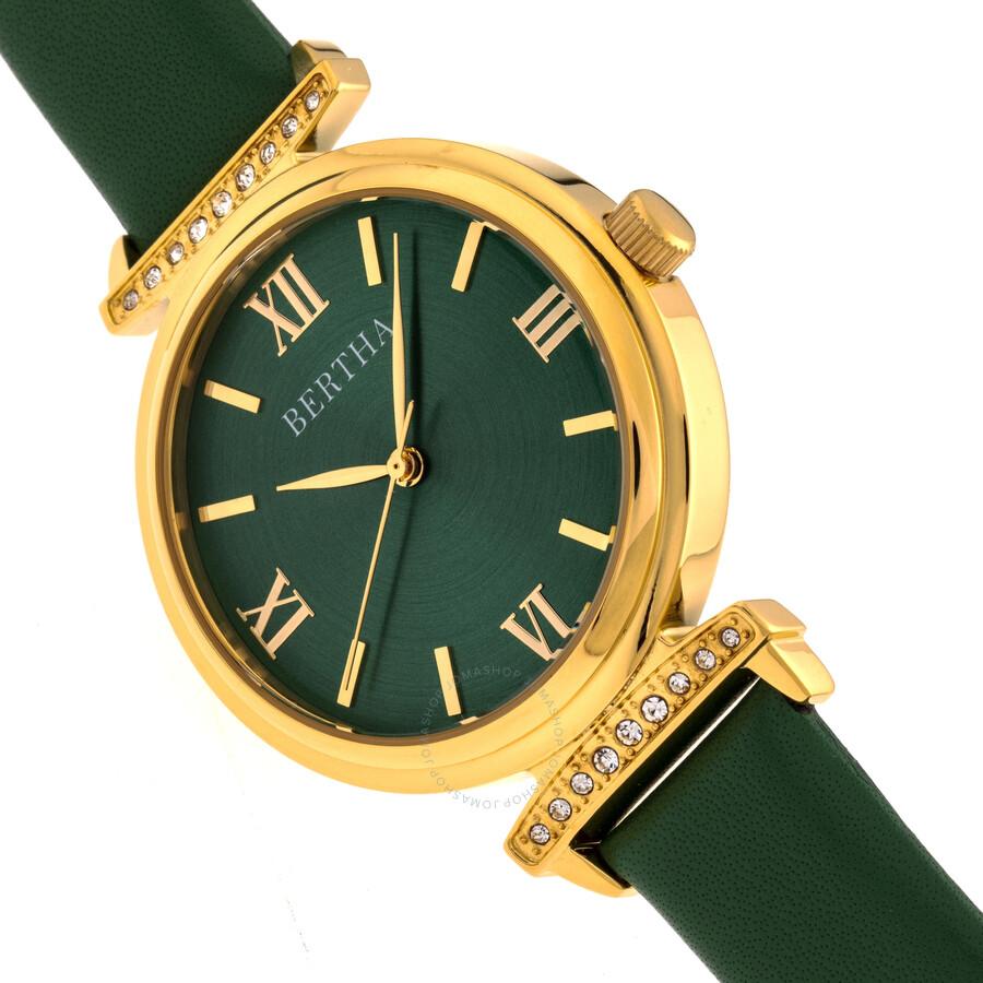 Jasmine Quartz Green Dial Ladies Watch BR9604