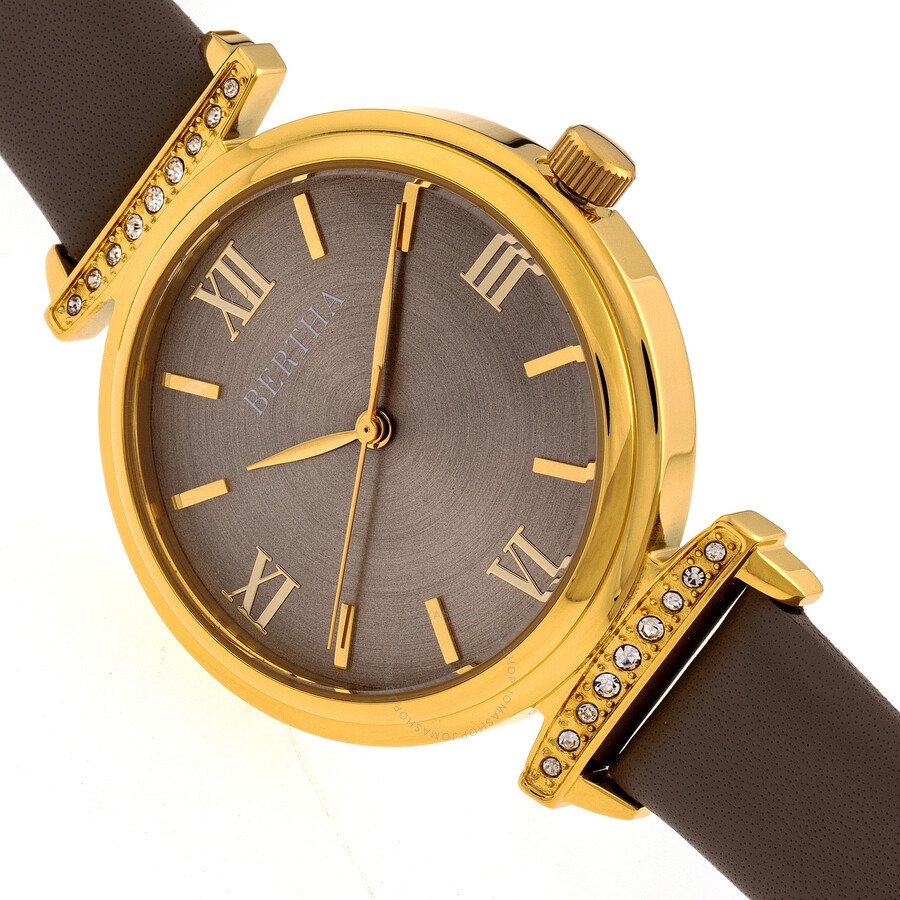 Jasmine Quartz Grey Dial Ladies Watch BR9603