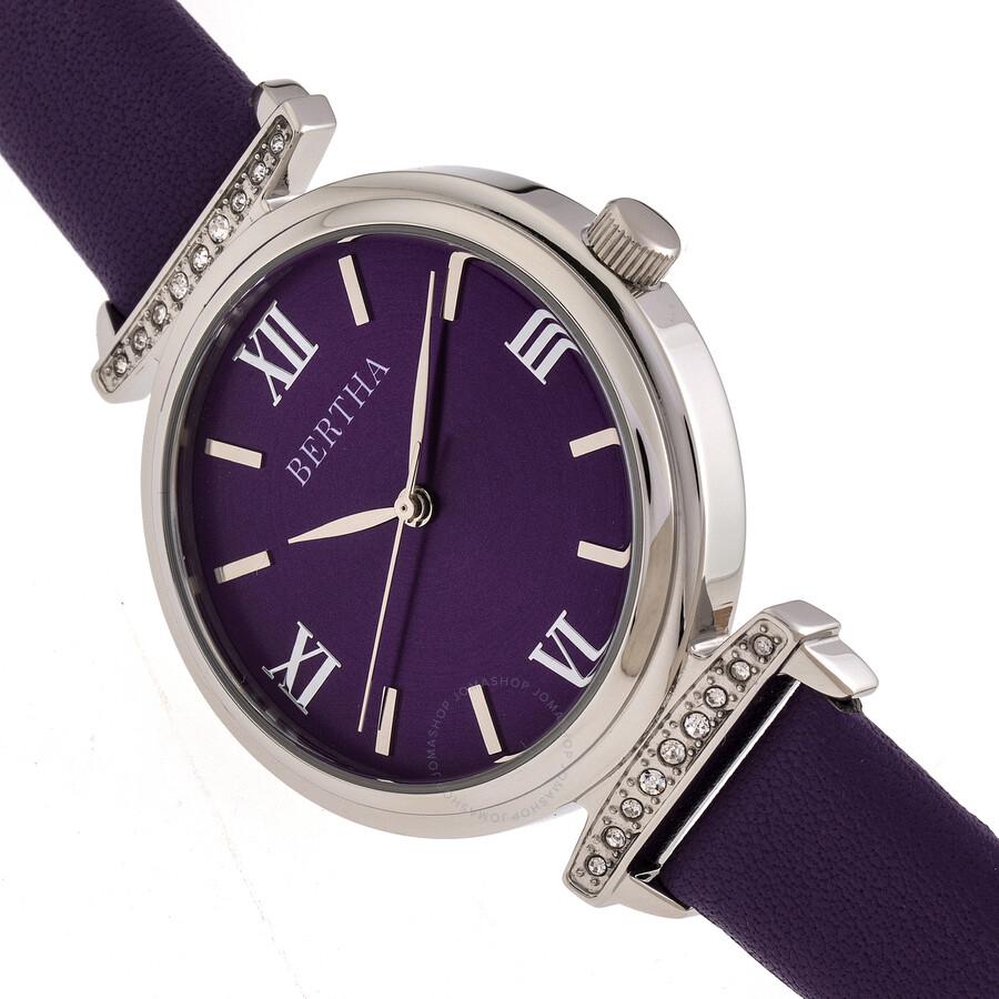 Jasmine Quartz Purple Dial Ladies Watch BR9602