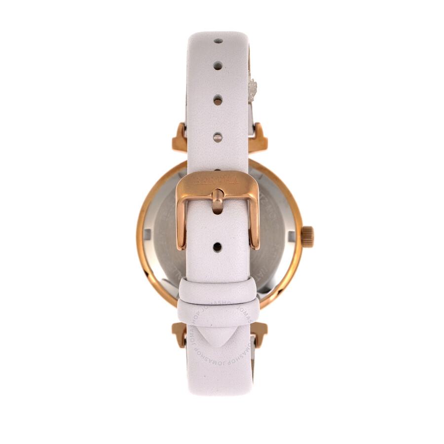 Jasmine Quartz White Dial Ladies Watch BR9605