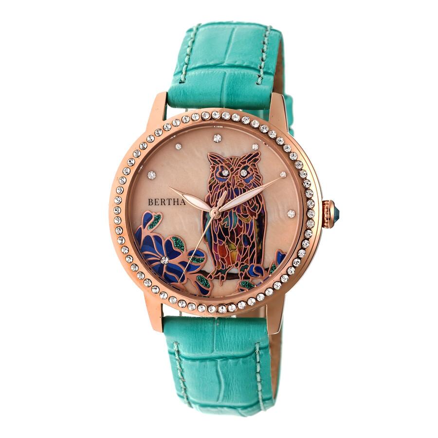 Bertha madeline crystal ladies watch bthbr7108 bertha watches jomashop for Crystal ladies watch